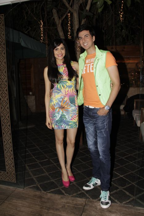 1. Adah Sharma with Dev Goel  0937