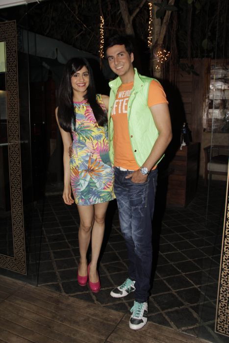 2. Adah Sharma with Dev Goel  0988