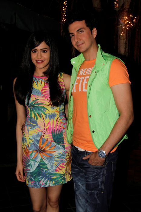 3. Adah Sharma with Dev Goel  0993
