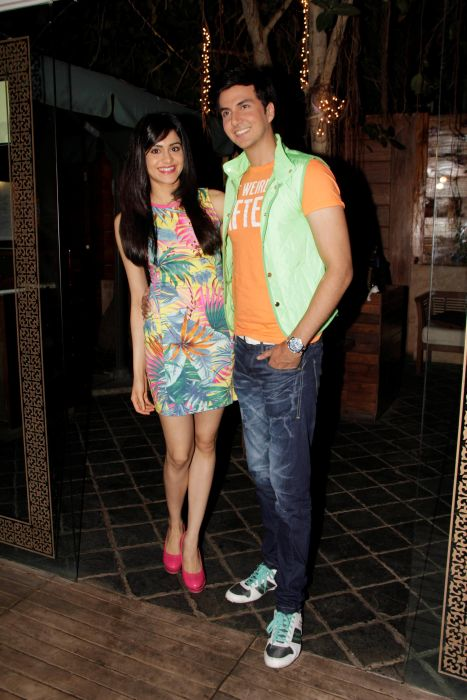 5. Adah Sharma with Dev Goel  0990