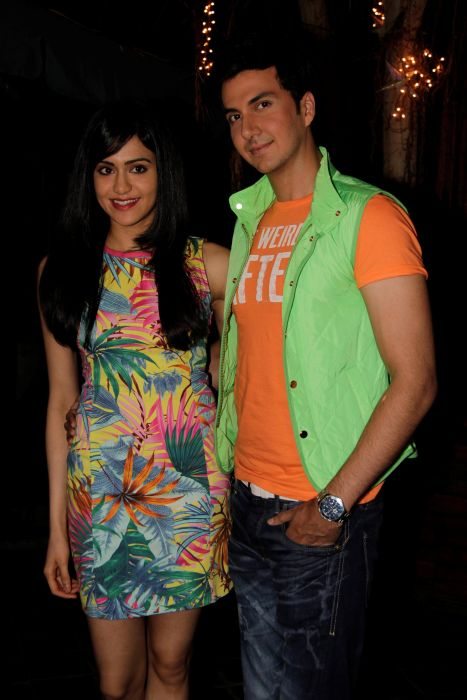 6. Adah Sharma with Dev Goel _0992