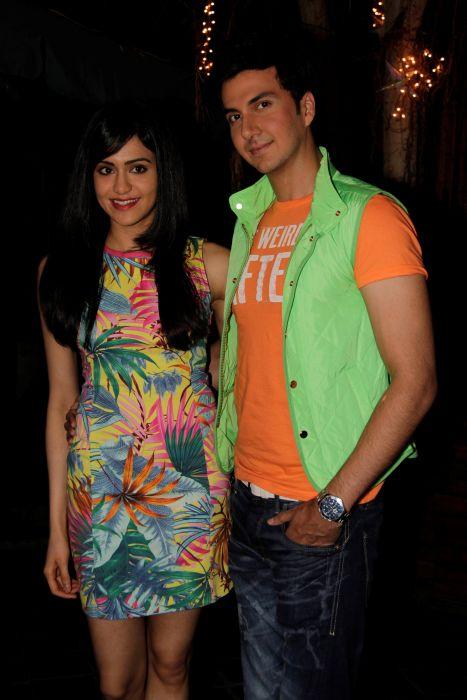 6. Adah Sharma with Dev Goel _0992