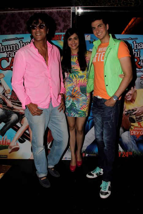 7. Chunky Pandey, Adah Sharma and Dev Goel  1033