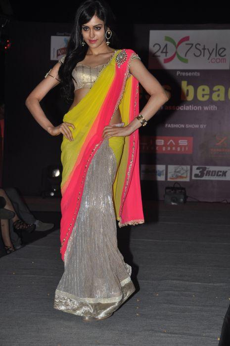 Actress Adah Sharma for  Zanaaya Couture by Designer Shouger Merchant Doshi@Sea Princess,Juhu