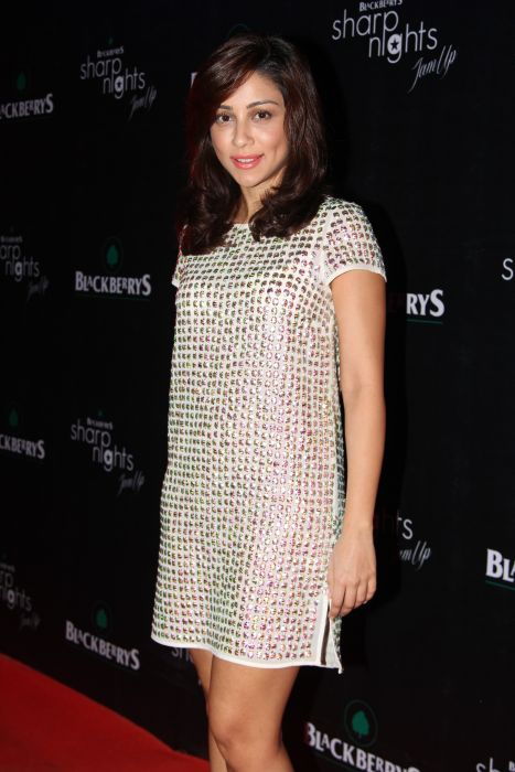 Amrita Puri at Blackberrys Sharp Nights Summer 13 collection launch