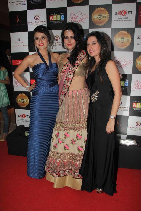 4. Bulbeer Gandhi, Tulip Joshi with Amy Billimoria   _MG_0615