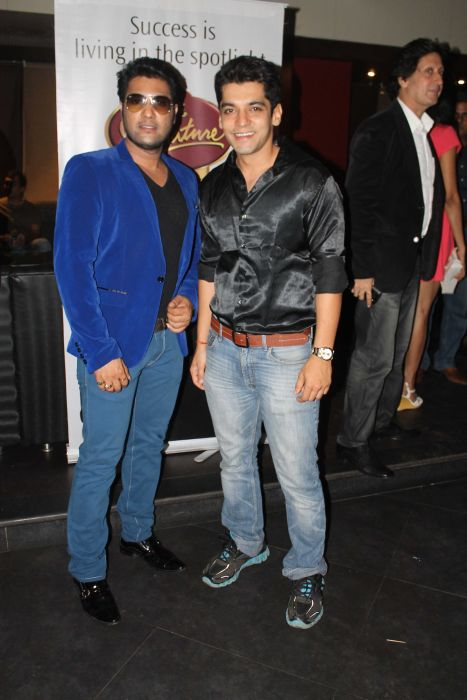 Ankit Narayanan and Akshat Irani at Event