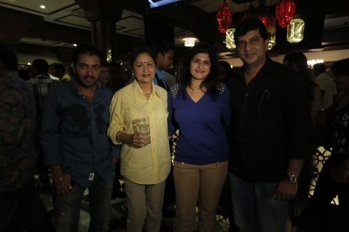 frm left Ameya Khopkar, Aroona Irani ,Shailni Thakare Jeetendra Thakare