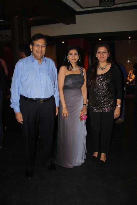 Industrialist Dilip Piramal Lalitya Munsha and Shalini Piramil at event