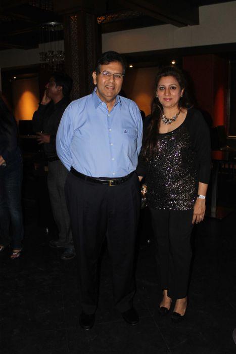 Industrialist Dilip Piramal with his wife Shalini Piramal