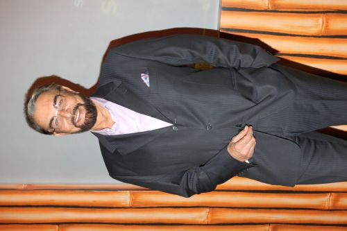 Kabir Bedi as Asit Muni in Zee TV's Buddha