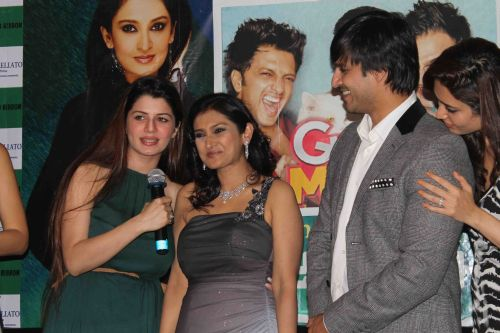 Kainaat Arora Lalitya Munsha and Vivek Oberoi at event