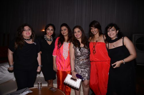 Left to right-delnaaz Irani,Mouli Ganguly,Gulfam khan,Munisha Khatwani, hansa and madhvi