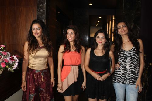 manjari phadnis Bruna Abdullah Maryam Zakariya and Sonali Kulkarni at event