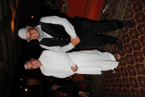 Mr. Subhash Chandra and Dr. BK Modi at the launch of Buddha