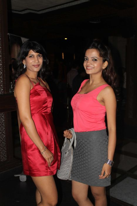 Reshma Dsouza with Menika Sharma at Event