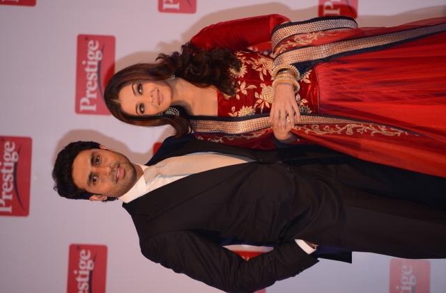 Aishwarya Rai Bachchan and Abhishek Bachchan, the brand ambassadors of TTK Prestige