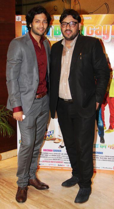 Ali Fazal and Shuja Ali at Baat Bann Gayi premiere
