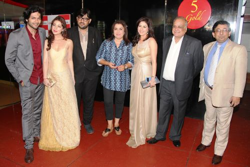 Ali Fazal, Anisa, Shuja Ali, Farah Khan, Amrita Raichand, TP Agarwal, Sayed Asif Jah at Baat Bann Gayi premiere