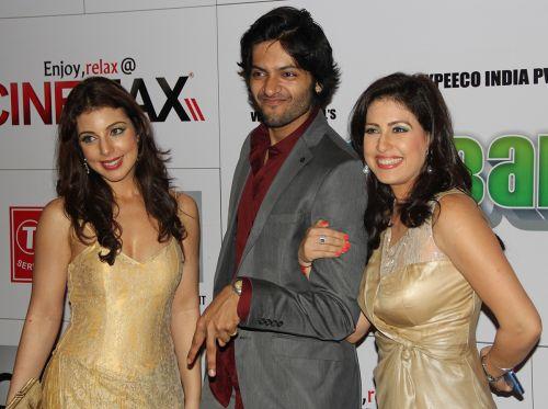 Anisa, Ali Fazal and Amrita Raichd at Baat Bann Gayi premiere