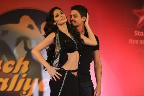 Bruna and Omar at the press conference of Nach Baliye-6 Starting 9th November @ 9pm on STAR Plus!