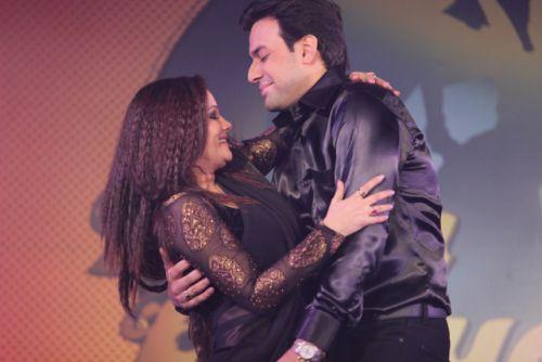 Kanika and Ankur at the press conference of Nach Baliye-6 Starting 9th November @ 9pm on STAR Plus