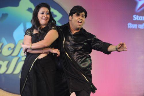 Kiku and Priyanka at the press conference of Nach Baliye-6 Starting 9th November @ 9pm on STAR Plus!