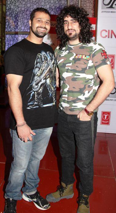 Mudasir Ali and Sahil Multy Khan at Baat Bann Gayi premiere
