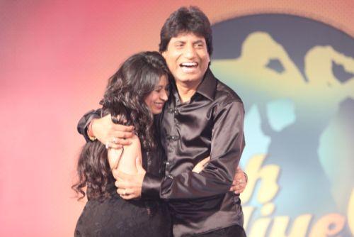Raju and Shikha at the press conference of Nach Baliye-6 Starting 9th November @ 9pm on STAR Plus