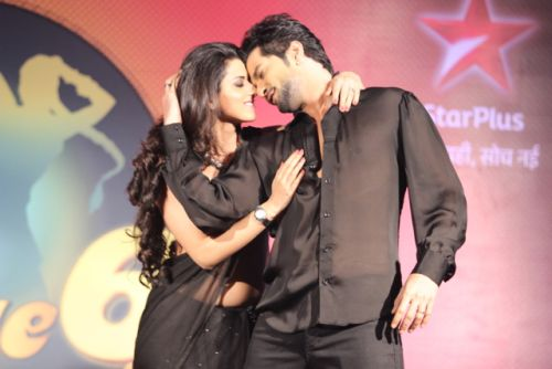 Ridhi-Raqesh at the press conference of Nach Baliye-6 Starting 9th November @ 9pm on STAR Plus
