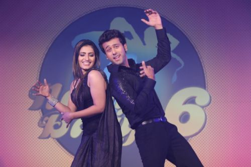 Ripudaman and Shivangi at the press conference of Nach Baliye-6 Starting 9th November @ 9pm on STAR Plus!