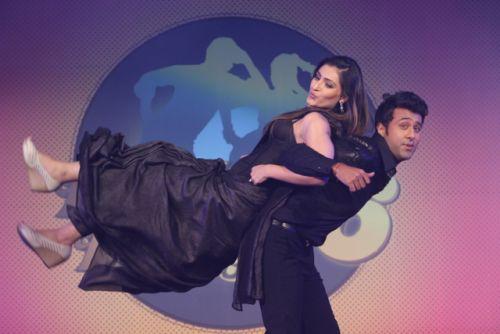 Ripudaman and Shivangi at the press conference of Nach Baliye-6 Starting 9th November @ 9pm on STAR Plus