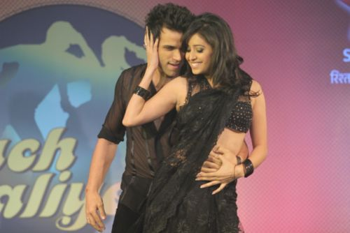 Rithvik- Asha  at the press conference of Nach Baliye-6 Starting 9th November @ 9pm on STAR Plus!