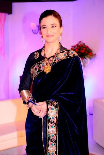Sujata Saigal on the launch Press Conference of Sony Entertainment Television's New Fiction Show Desh Ki Beti...Nandini