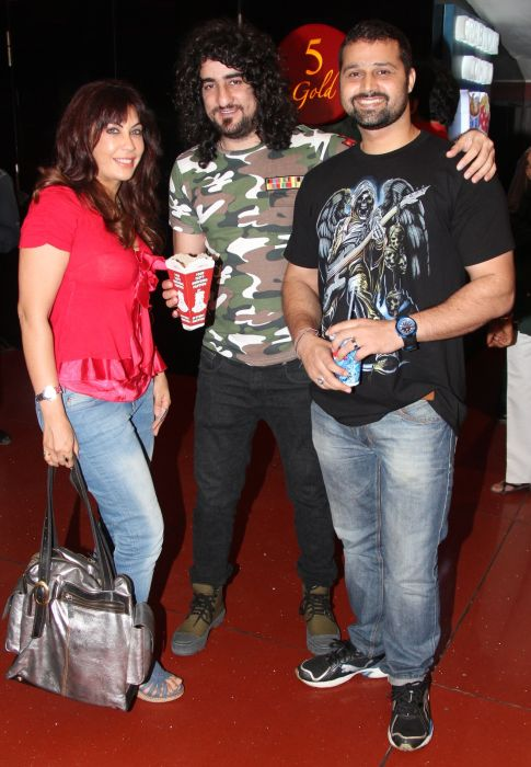 vandana vadhera, sahil multy khan and sufi singer mudasir ali