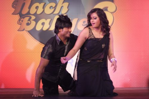 Vinod and Raksha at the press conference of Nach Baliye-6 Starting 9th November @ 9pm on STAR Plus!