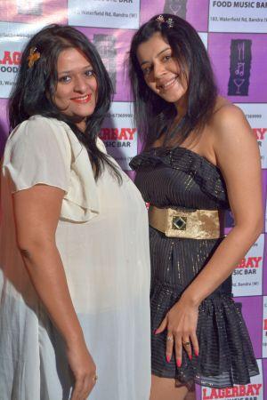 Kiara Khosla with a friend