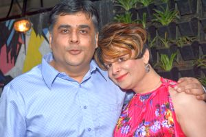 Lagerbay owner Haresh Gehi, Bobby Darling