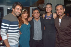 Lagerbay partner Kailash Nasta with celebs