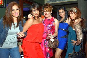 Munisha Khatwani, a guest, Bobby, Shilpa, Vandana