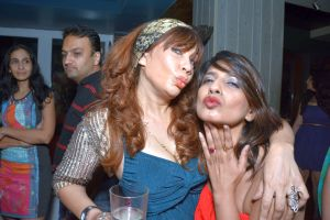 Vandana with a guest