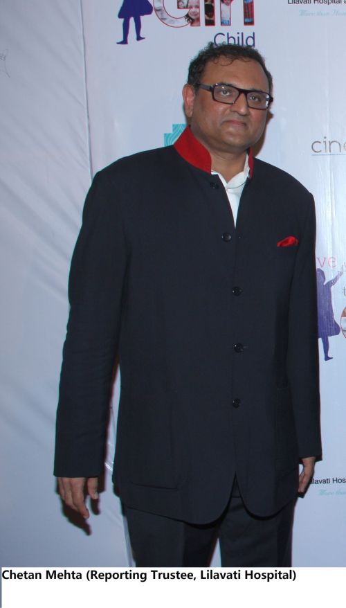 Chetan Mehta (Reporting Trustee, Lilavati Hospital)