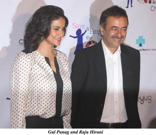 Gul Panag and Raju Hirani
