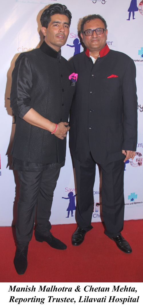 Manish Malhotra & Chetan Mehta