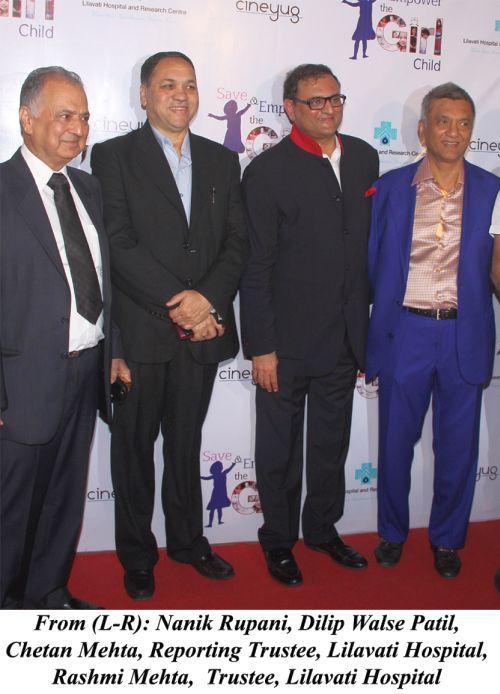 Nanik Rupani, Dilip Walse Patil, Chetan Mehta, Rashmi Mehta