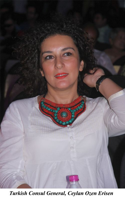 Turkish Consul General, Ceylan Ozen Erisen