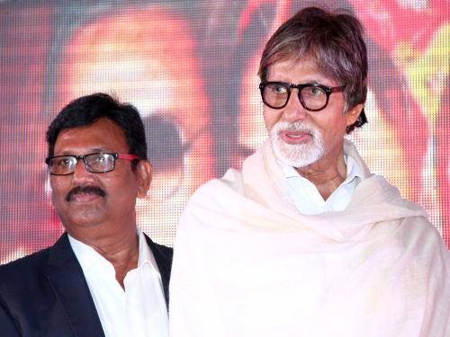 Producer Deepak Sawant with Mr amitabh Bachchan (2)