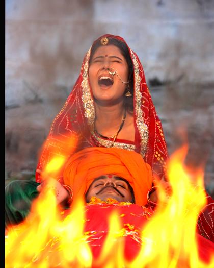 Sati Scene in 'Desires of the Heart'