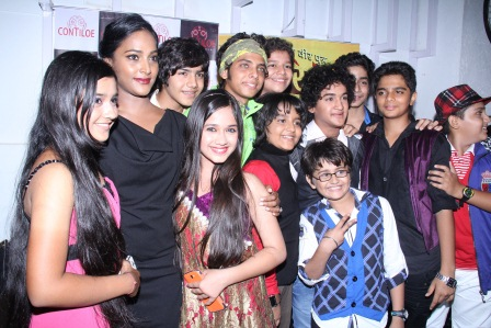 Star casts of Maharana Pratap having Fun