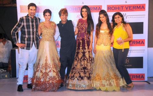 4. Denial Weber, Sunny Leone, Rohhit Verma, Koena Mitra, and Shilpa Marigold DSC_1330